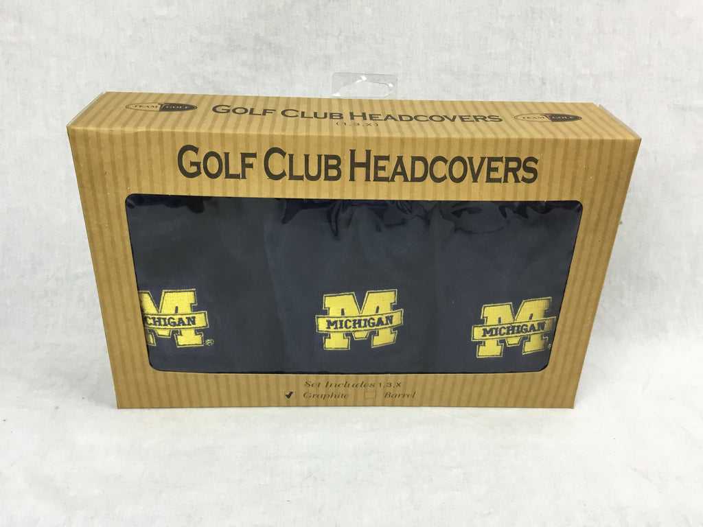 Michigan State Golf Headcover Gift Set