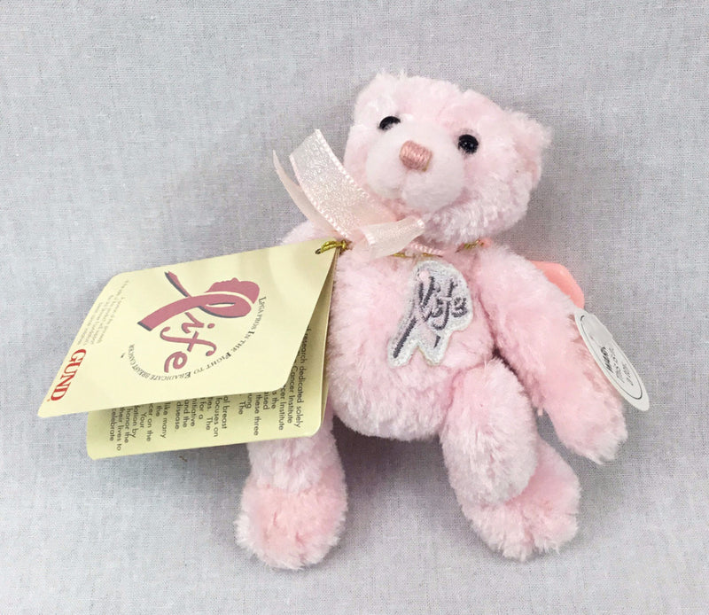 Breast Cancer Awareness Bear - Golf Bag Accessory