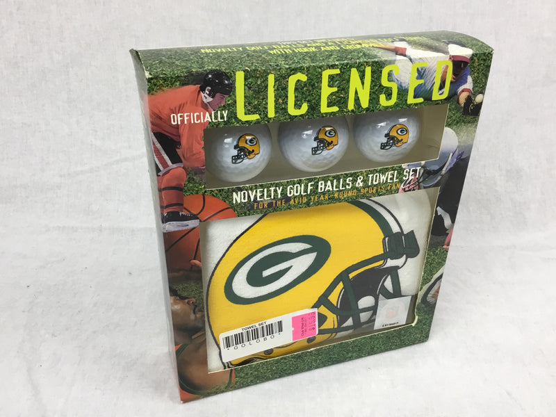 Greenbay Packers Golf Gift Set