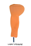 Light Orange Club Sock Golf Headcover | Peanuts and Golf