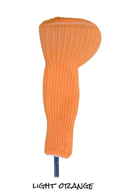 Light Orange Club Sock Golf Headcover