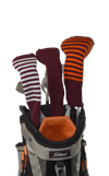 Maroon Club Sock Golf Headcover