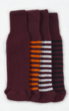 Maroon Club Sock Golf Headcovers | Peanuts and Golf