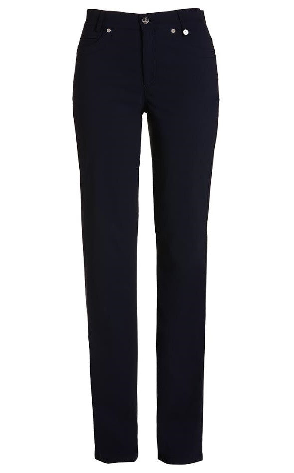 Golfino Water-Repellent Techno Stretch Ankle Pant - Navy
