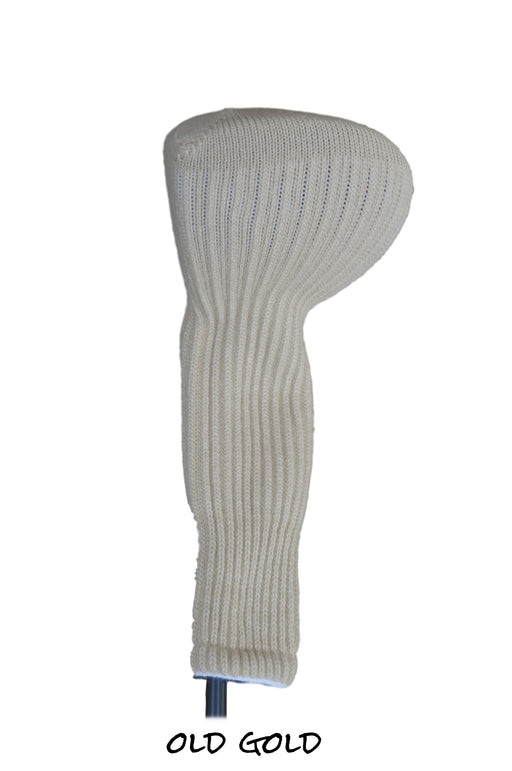Old Gold Club Sock Golf Headcover