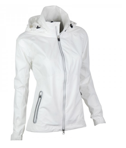Zero Restriction Hooded Olivia Jacket - White