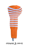Orange and White Club Sock Golf Headcover | Peanuts and Golf
