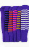 Purple Club Sock Golf Headcovers | Peanuts and Golf