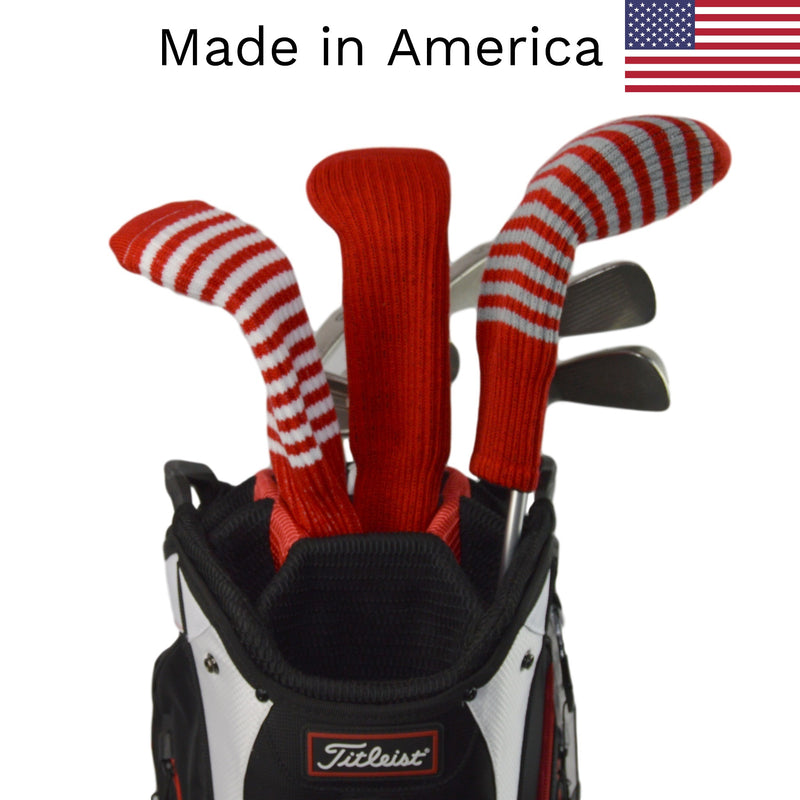 Red Club Sock Golf Headcovers