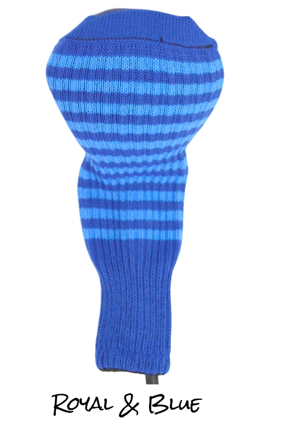 Royal Blue and Blue Club Sock Golf Headcover