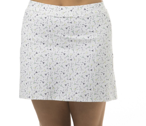 "SanSoleil 18""Golf Skort Speak Easy  
