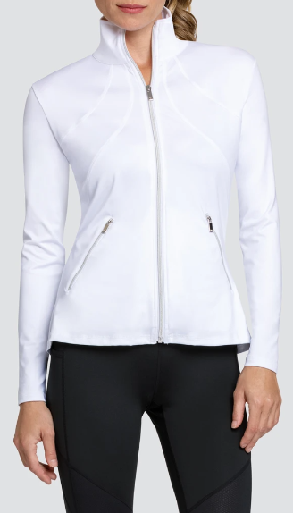 Tail Activewear  Rachel Jacket Chalk