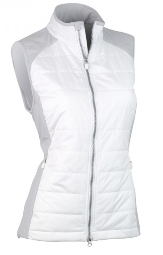 Zero Restriction Tess Vest - White