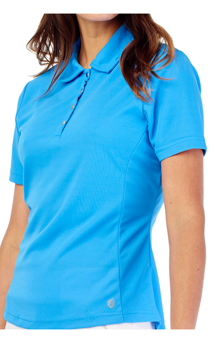 GG Blue Tina Short Sleeve Polo