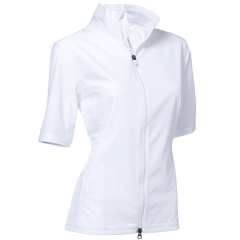 Zero Restriction EVE Short Sleeve Wind Jacket - White
