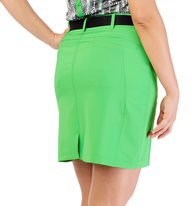 GG Blue Wedge Skort - Turtle Green
