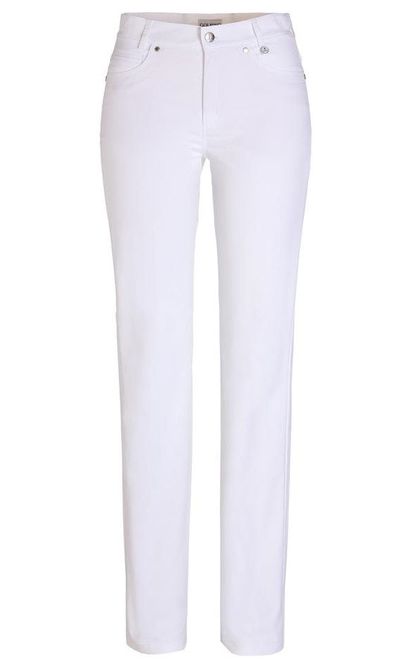 Golfino Techno Stretch Ankle Pant in Slim Fit - White
