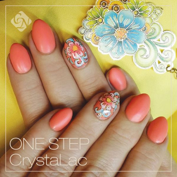 One Step CrystaLac gel polish 0.27 fl oz