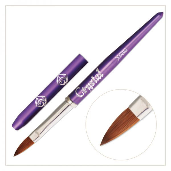 Xtreme Acrylic Brush - (with Violet handle)