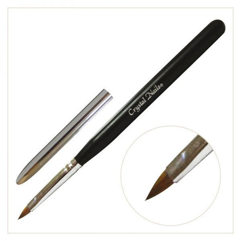 Stubby Art Brush - (with Black handle)