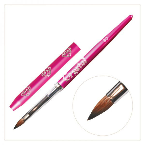 #3D Art Brush - (with Pink handle)