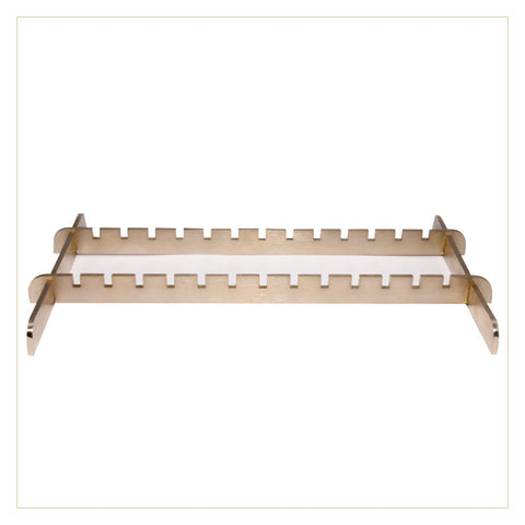 Rack for pedicure tools