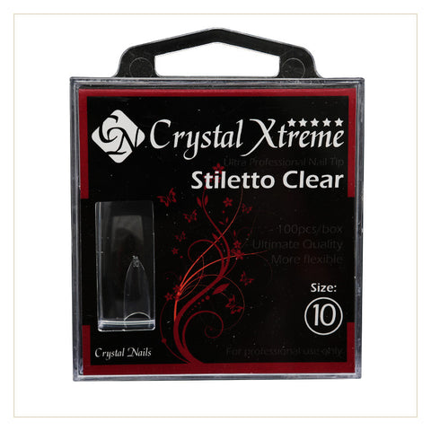 Xtreme Stiletto Clear Tip Refill