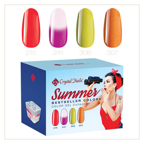 2017 Color gel Bestseller Colors Summer kit