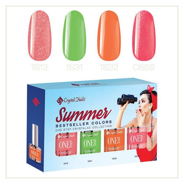 2017 Bestseller Colors Summer One Step kit