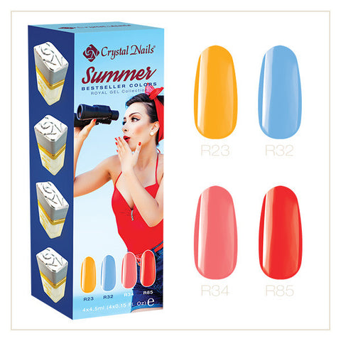2017 Bestseller Colors Summer Royal gel kit