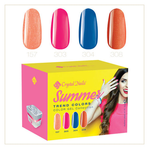 2017 Color gel Trend Colors Summer kit