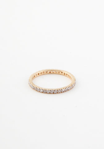 Diamond Micropave eternity band