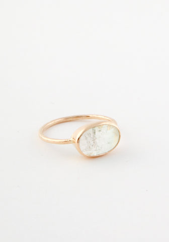 Aquamarine ocean ring