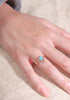 Turquoise sleeping beauty ring