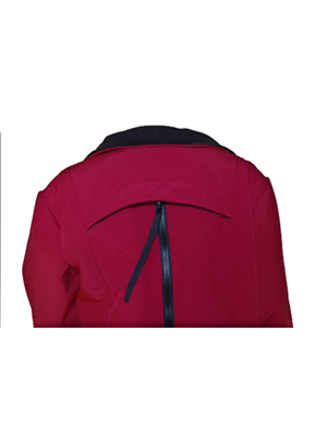 Malbec - Red 4 in 1 Babywearing Jacket