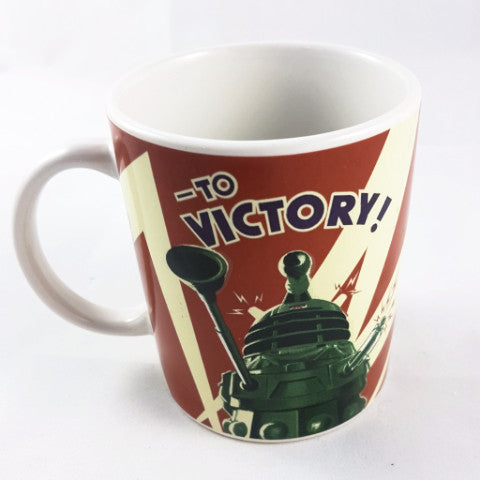 To Victory Dr Who Mug