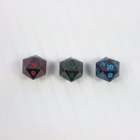 Painted Metal Dice Sets