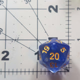 Clouded infused dice (Red)