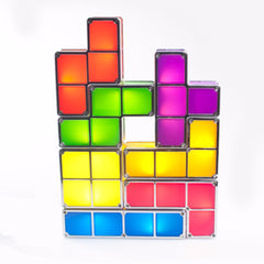 Tetris styled block lamp
