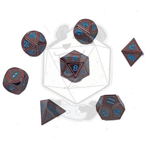 SciFi Metal Dice Sets
