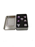 Aluminium 7 PC Dice Sets (Two Toned)