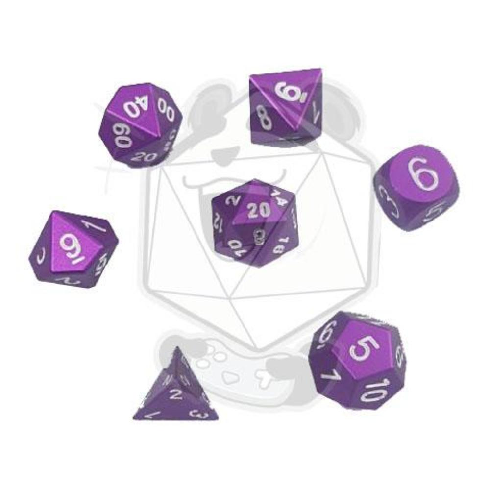 Aluminium 7 PC Dice Sets - Some colors on SALE