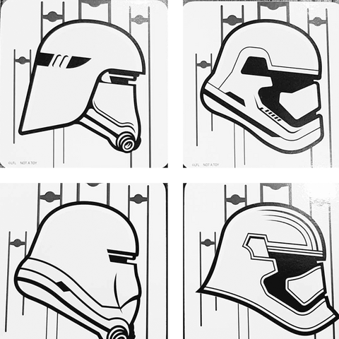 Storm trooper and variants coaster set SALE