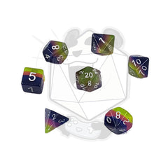 Multi Color Layered Dice Sets