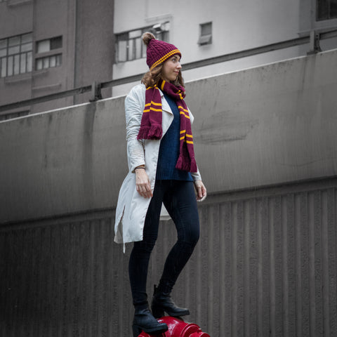 Fashion wizarding week - Stylish even in freezing days