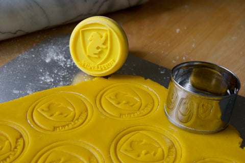 Hufflepuff cookie stamp