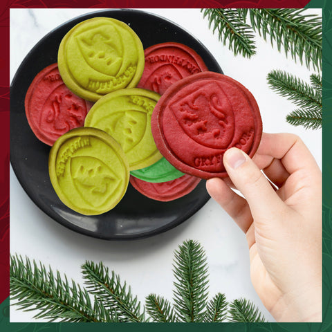 Harry Potter cookies stamps