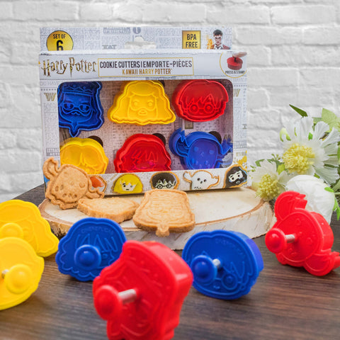 Harry Potter cookie cutters kawaii