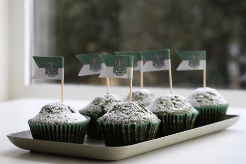 Slytherin green velvet cupcakes recipe
