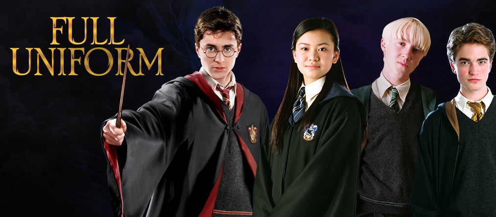 harry potter full uniform promo
